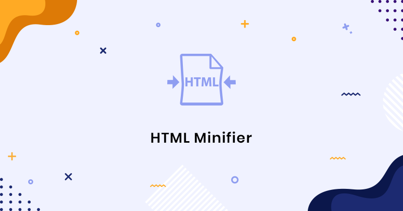 HTML Minifier - Compress HTML Code Online Free By SER